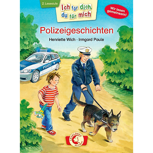 Buch - Ich dich, du mich: Polizeigeschichten, 2. Lesestufe Kinder