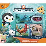 CD Die Oktonauten - Unterwasser Box 1