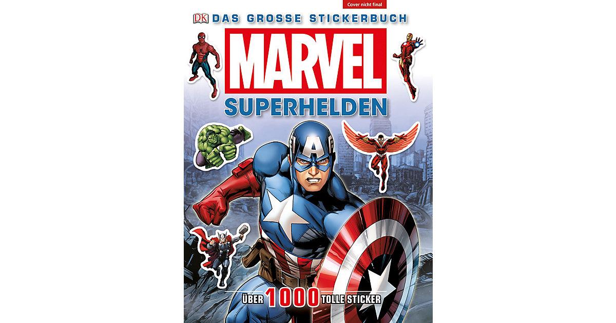 Buch - MARVEL Superhelden - Das große Stickerbuch