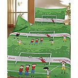 Kinderbettwäsche Fußballfieber, Cretonne, 100 x 135 cm