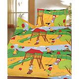 Kinderbettwäsche Spielplatz, Cretonne, 100 x 135 cm