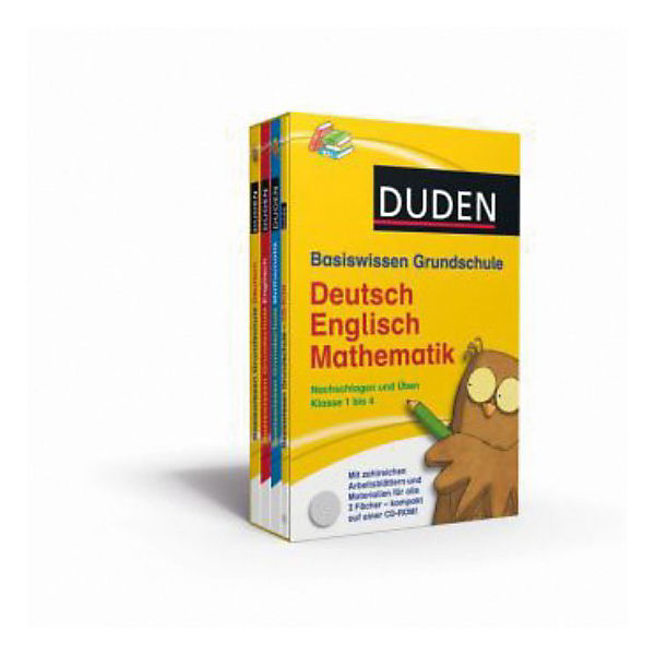 Duden Basiswissen Grundschule Deutsch, Englisch
