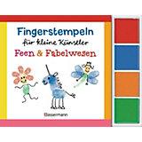 Fingerstempeln für kleine Künstler-Set: Feen und Fabelwesen