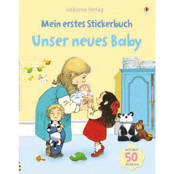Mein Erstes Baby : mein erstes stickerbuch unser neues baby anna civardi mytoys ~ Frokenaadalensverden.com Haus und Dekorationen