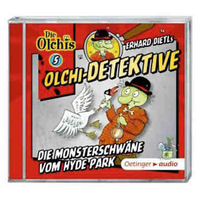 Die Olchi-Detektive: Die Monsterschwäne vom Hyde Park, 1 Audio-CD