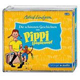 Die schönsten Geschichten von Pippi Langstrumpf, 3 Audio-CDs