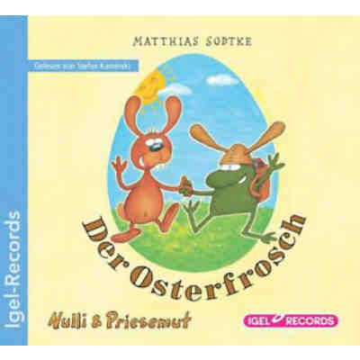 Nulli & Priesemut: Der Osterfrosch, 1 Audio-CD
