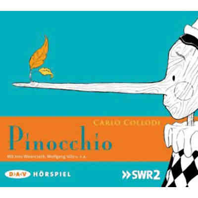 Pinocchio, 1 Audio-CD