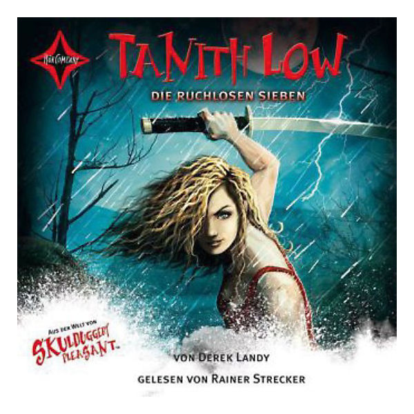 Skulduggery Pleasant's Bad Girl: Tanith Low und die ruchlosen Sieben, 4 Audio-CDs