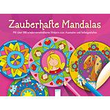 Zauberhafte Mandalas, mit Stickern