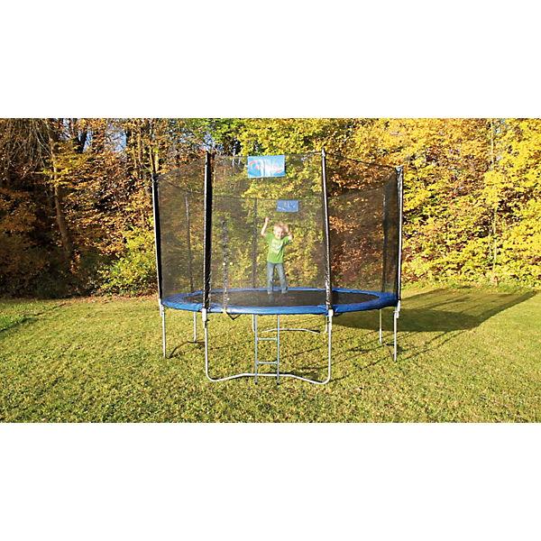 trampolin 426 mit sicherheitsnetz 4uniq mytoys. Black Bedroom Furniture Sets. Home Design Ideas