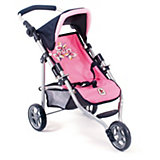 Puppenwagen 3-Rad-Jogger LOLA Butterfly