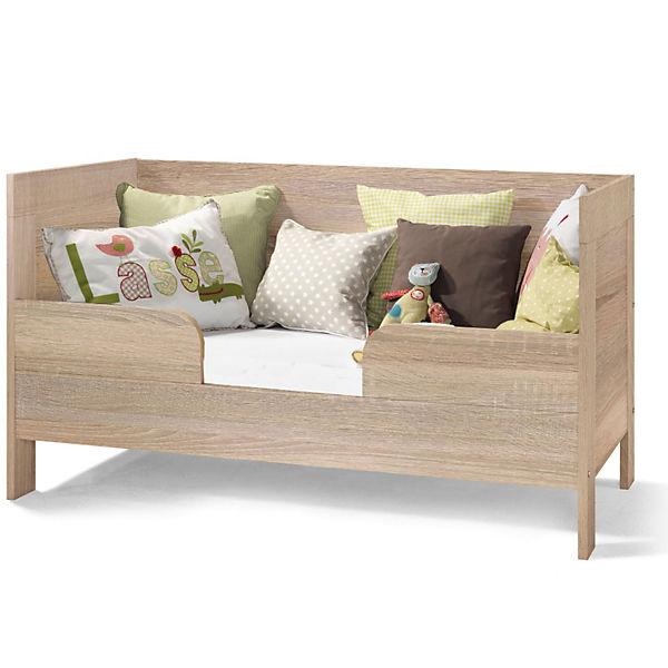 zubeh r umbauseitenteil mit rausfallschutz f r kinderbett leopold wildeiche echtholzstruktur. Black Bedroom Furniture Sets. Home Design Ideas