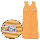Sommer- Schlafsack Anni, Streifen orange