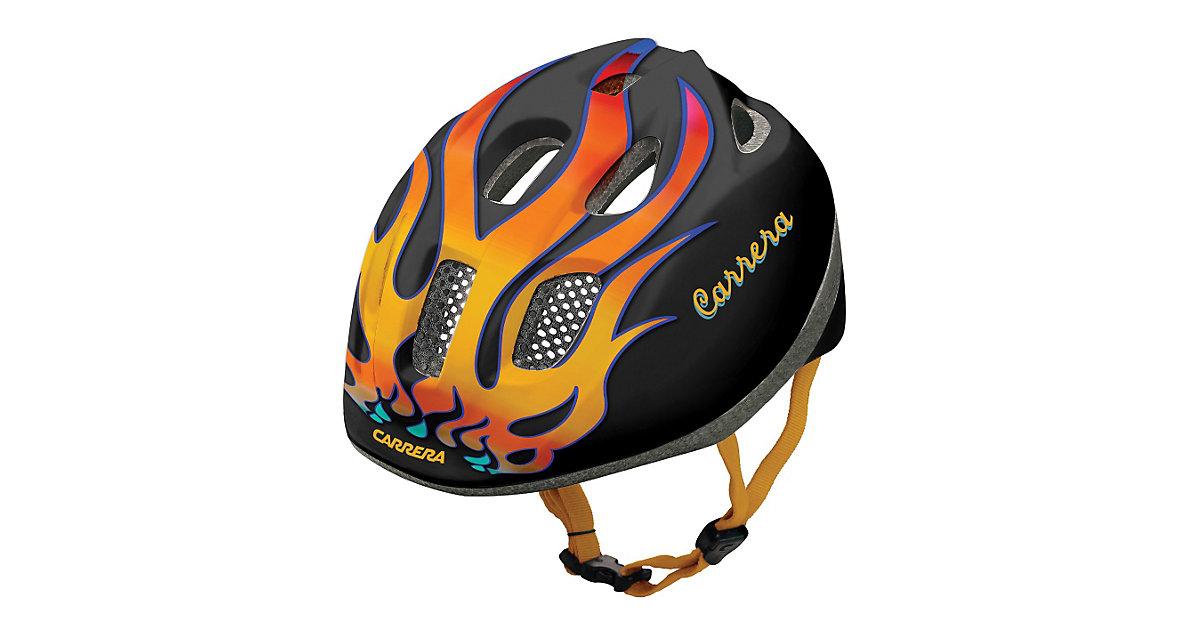 Carrera Fahrradhelm Boogie Black fire schwarz Gr. 51-55