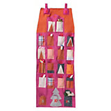HOTEX Adventskalender Wandbehang, pink/orange