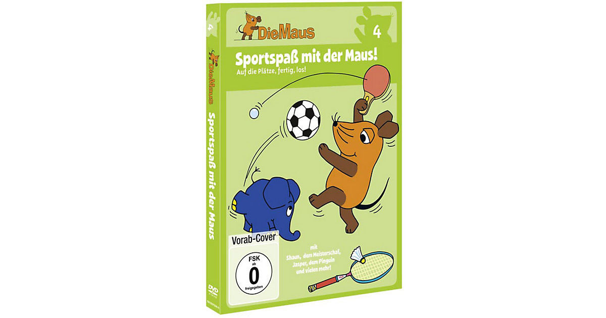 DVD Die Sendung mit der Maus 04 - Sportspaß mit der der Maus
