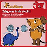 CD Die Sendung mit der Maus 04 - Zeig, was in dir steck!