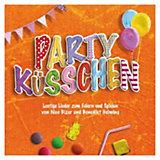 CD Partyküsschen - Lustige Kinderlieder zum Feiern und Spielen