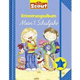 Scout Erinnerungsalbum: Mein 1. Schuljahr (blau)