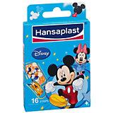 Hansaplast Junior Mickey, 16 Stück