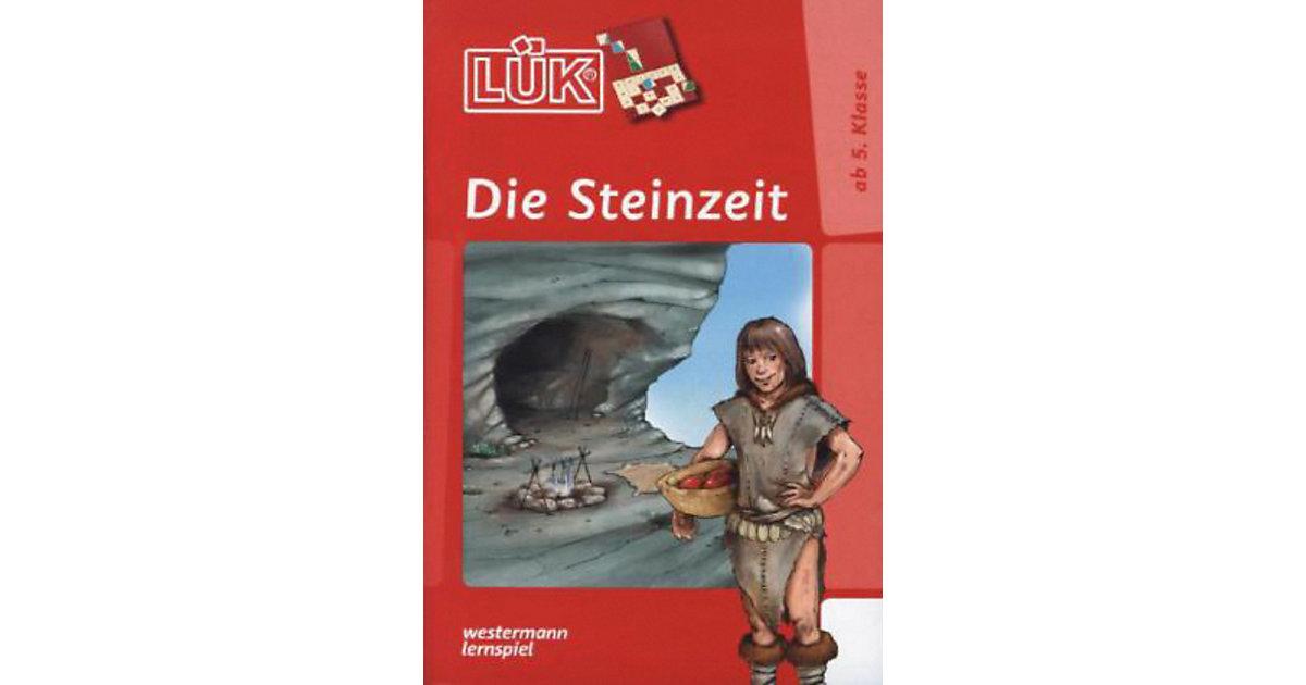 Buch - LÜK: Die Steinzeit, Übungsheft