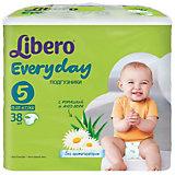 Подгузники Libero Everyday, XL 11-25 кг (5), 38 шт., Econom