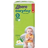 Подгузники Libero Everyday, XL 11-25 кг (5), 56 шт., Mega