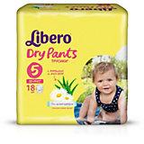 Трусики Libero Dry Pants, Maxi Plus 10-14 кг, 18 шт.