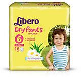 Трусики Libero Dry Pants, XL 13-20 кг, 16 шт.