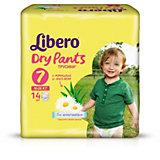 Трусики Libero Dry Pants, XL Plus 16-26 кг, 14 шт.