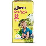 Трусики Libero Dry Pants, Maxi 7-11 кг, 34 шт.