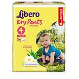 Трусики Libero Dry Pants, Maxi 7-11 кг, 54 шт., Mega