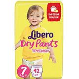 Трусики Libero Dry Pants, XL Plus 16-26 кг, 42 шт., Mega