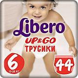 Трусики Up&Go, Mega XL 13-20 кг (6), 44 шт., Libero