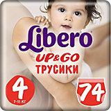 Трусики Up&Go, Giga Maxi 7-11 кг (4), 74 шт., Libero