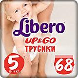 Трусики Up&Go, Giga Maxi Plus 10-14 кг (5), 68 шт., Libero