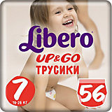 Трусики Up&Go, Giga XL Plus 16-26 кг (7), 56 шт., Libero