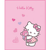 Fleecedecke Hello Kitty, Mimi Love Pink, 110 x 140 cm