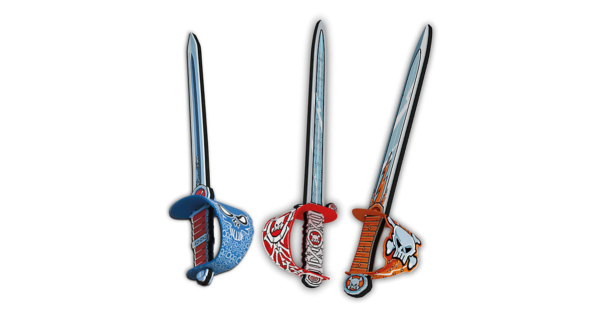 Piraten Schwert Soft, 1 Stück Jungen Kinder