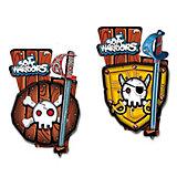 Piraten Schwert & Schild Set Soft, sortiert