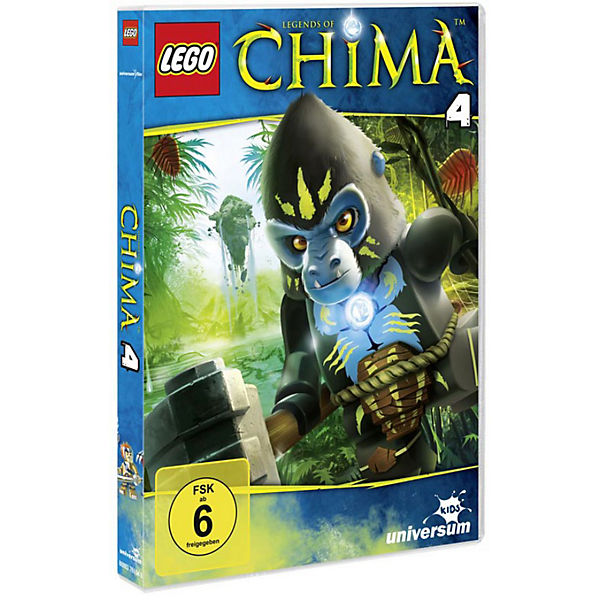 DVD LEGO: Legends of Chima 04