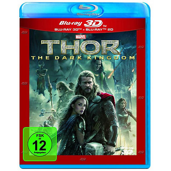 BLU-RAY Thor - The Dark Kingdom (3D Vers.)
