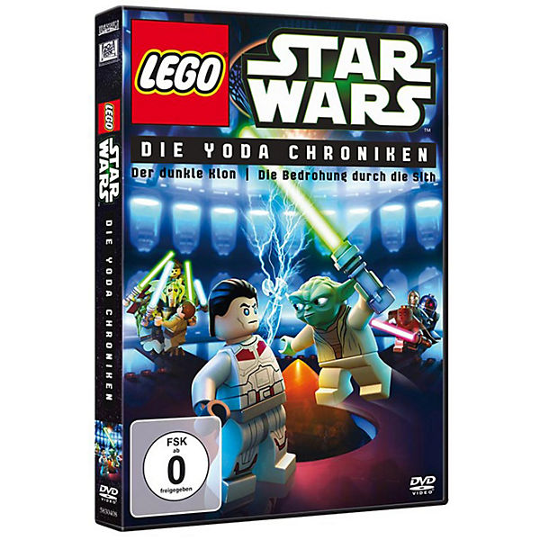 DVD Lego Star Wars: Die Yoda Chroniken 1 & 2
