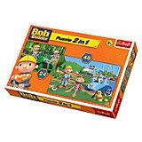 Puzzle 2in1 - 24/48 Teile - Bob der Baumeister