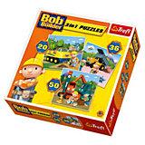 Puzzle 3in1 - 20/36/50 Teile - Bob der Baumeister