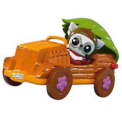 Машинка с фигуркой, Юху и его друзья