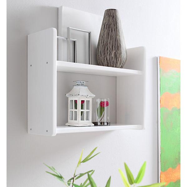 wandregal kiefer massiv wei ticaa mytoys. Black Bedroom Furniture Sets. Home Design Ideas