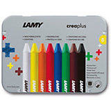 LAMY crea3plus Wachsmalstifte, 8 Farben