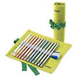 Plus-Farbstiftrolle inkl. 12 Farbstifte & Anspitzer